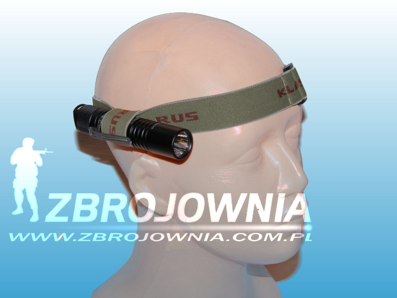 Montaż Headband do latarek Klarus
