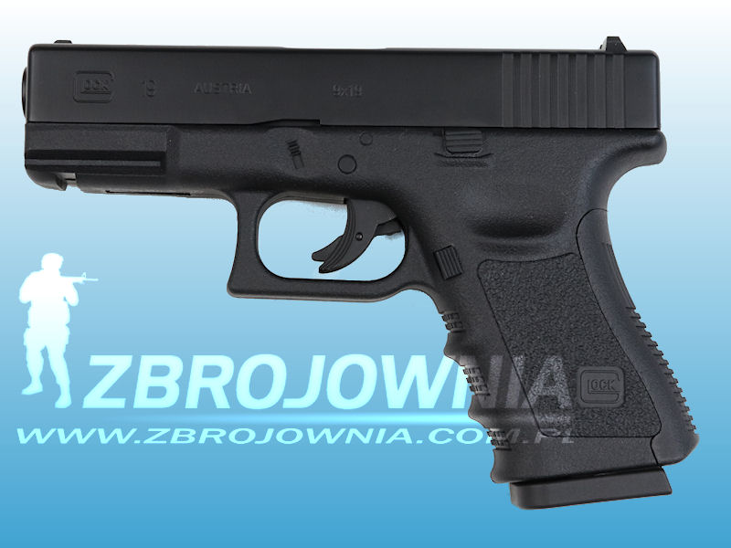 Wiatrówka Glock 19 CO2 Metal Slide