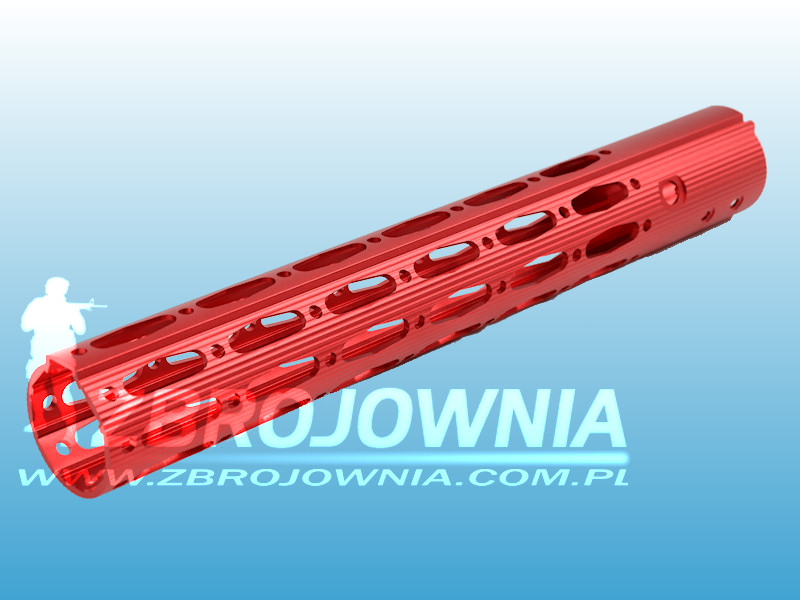 Ergonomic Rail Red 13""
