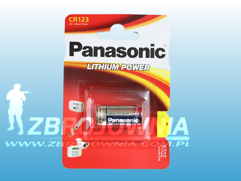 Bateria CR123A Panasonic