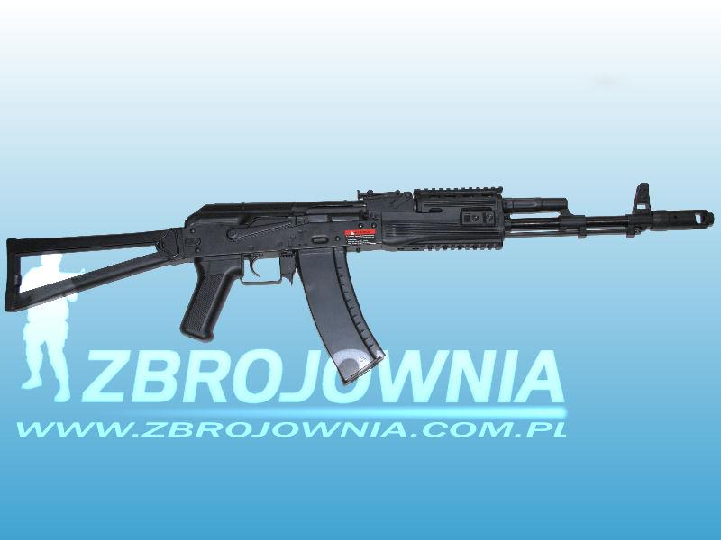 Zdjęcie: AKS74 RIS Full Metal EBB [ASK204P]