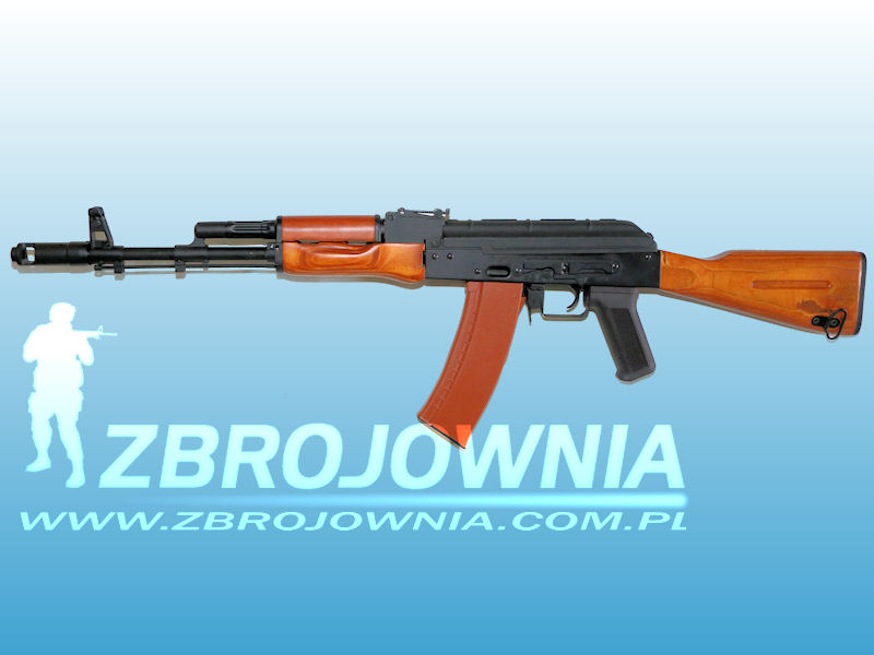 AK74 Full Metal & Wood [CM048]