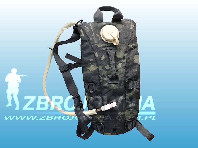 Hydration Pack Multicam Black