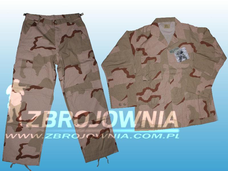 Zdjęcie: Komplet mundurowy typ BDU Desert 3C Ripstop