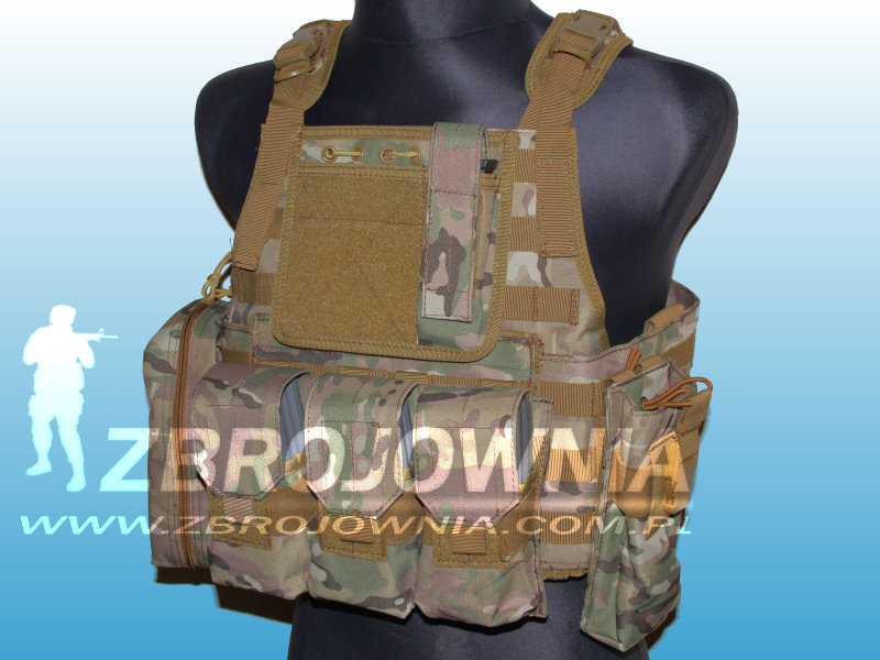 Kamizelka Plate Carrier Side Cummerbund System Multicam